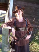 Steampunk Shoot July 2012 #1 by Steampunked-Out