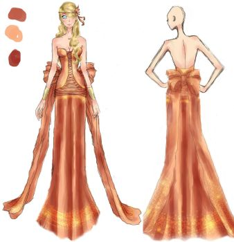 Quietus design:Ino by SasusakuRose