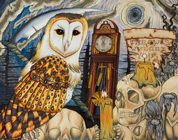 Owl of Death by soulexposed