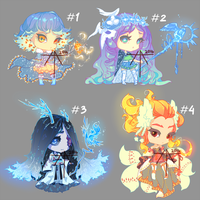[9] [OPEN] Auction - chibi adopts winter magic! by Hell-Alka