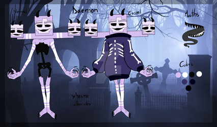 |OC| Daemon by BabyWitherBoo