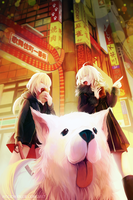The Alters of Shinjuku by ruina
