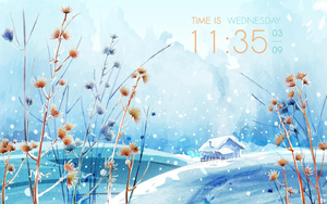 Natural - clock for CONKY by blooDesign