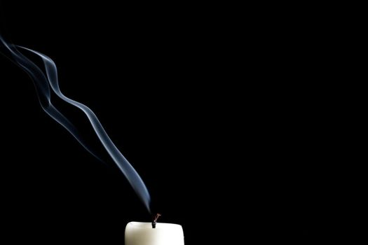 Candle Smoke Trails by GeorgeAmies