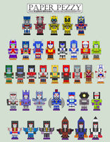 Paper Pezzy - Transformers by CyberDrone