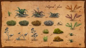 Sheogorad plants by lukkar