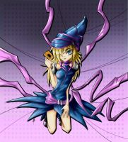 Dark Magician-Based Girl by CiLundi