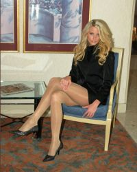 Long legs, luscious locks, lovely lady! by drknyght6