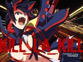 Toonami - Kill La Kill Wallpaper by JPReckless2444