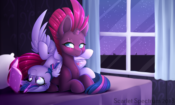 Hangin' Out by Scarlet-Spectrum