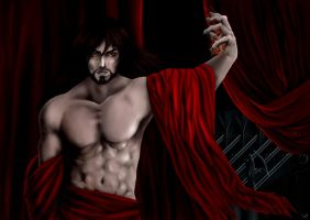 Eu sunt Dracul - Castlevania Lords of Shadow by IvoryBlack91