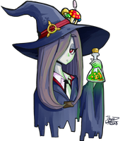 Sucy Little Witch Academia by JhonVasquez