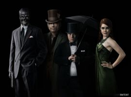 Batman Rogues Gallery by bgates87