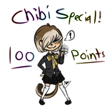 100 point chibi special! by Abissh