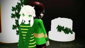 [MMD  Undertale] Best Friends by KanekiAru