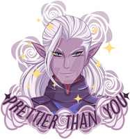 Prince Lotor by allarica