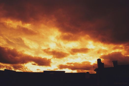 Clouds of fire by CIROdg