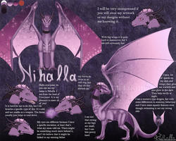 Nihalla's reference sheet (2018) by Nihalla