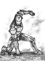 Iron Man - Mark III by SilverLeon88