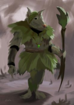 Leaf warrior by gordo258