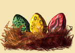 Egg Adoptables - Gryphon's nest Closed by Anipurk