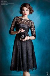 Lady in Lace I by KiaraBlackPhotograph