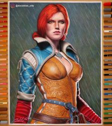 Triss Merigold | By: David Dias by Daviddiaspr