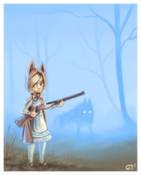 Whos hunting who by griffsnuff