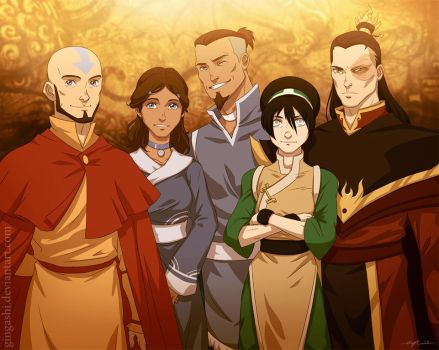 Avatar after by Gingashi