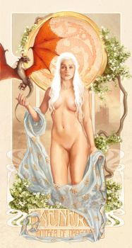 Mother Of Dragons by inuevan