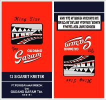 Gudang Garam Merah by indonesia