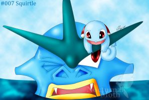 PKMN challenge - 007 Squirtle by Chibi-Warmonger