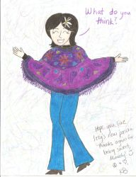 Request - Izzy's Poncho by girlwitharubbersoul