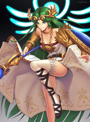 Palutena (Ultimate) by hybridmink