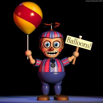 Balloon Boy by GamesProduction