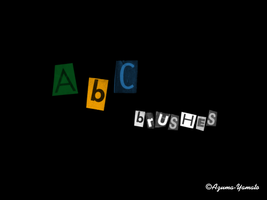 ABC Brushes by Natsume-Shin