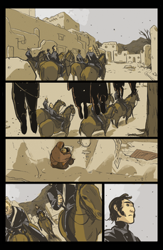 Outlaw Territory preview by PollyGuo