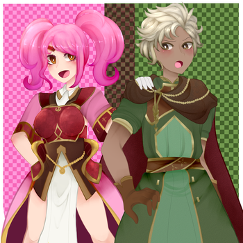 mae and boey by avatar-mabel