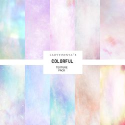 Colorful Texture Pack #1 by Lady-Asmodina