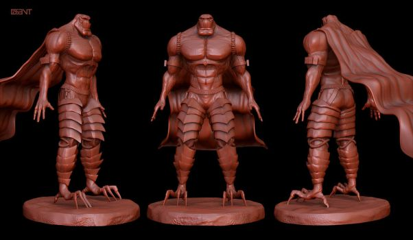 Bloodtrail - Zbrush by DISENT
