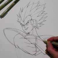 Vegeta (wip) by Trunnec
