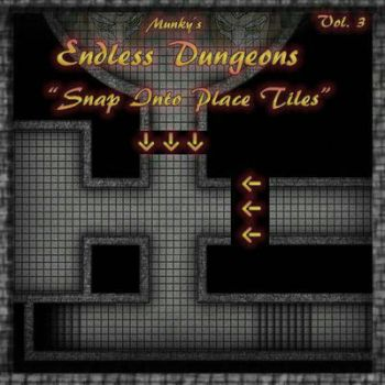 Endless Dungeons Vol 3 by meditatingmunky
