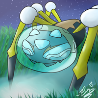 Bubble spooder - Araquanid - pokemon by BriannaTheWolf599