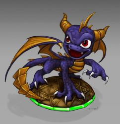 Spyro the Skylander by Kleoparda