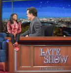 Tiny gymnast on Late Show by lowerrider