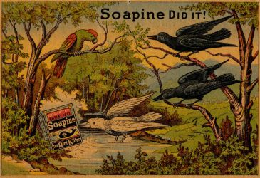 Victorian Advertising - Something to Crow About by Yesterdays-Paper