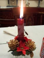 Candle I by Hasdiel