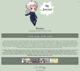 Prussia Journal Skin by TaNa-Jo