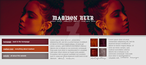 free header ft. Madison Beer by designsbyroth