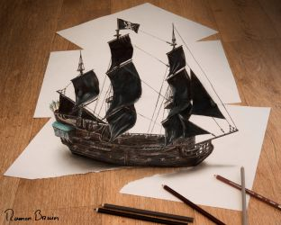 The Black Pearl by RamonBruin